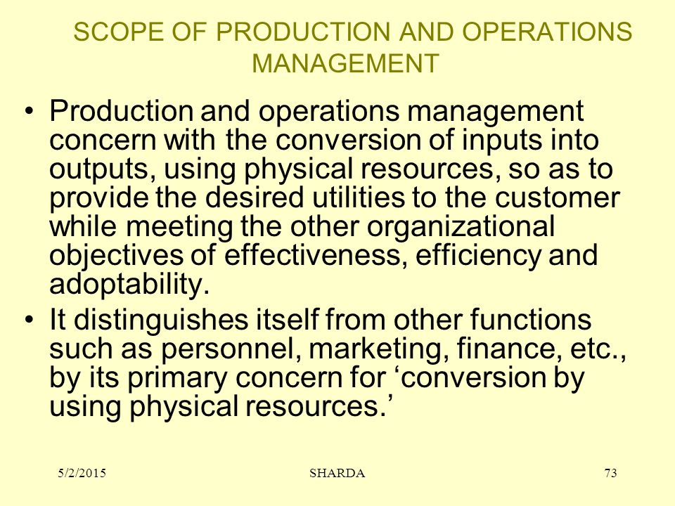 Materials Management: Objectives, Scope and Functions