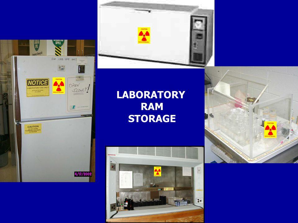 LABORATORY RAM STORAGE