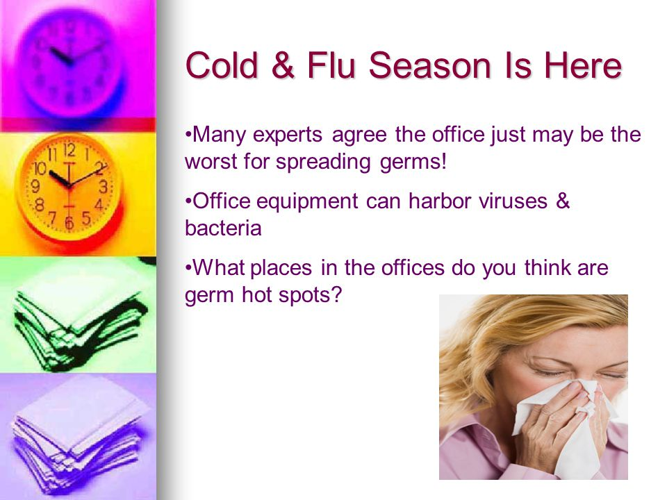 Cold & Flu Season Is Here
