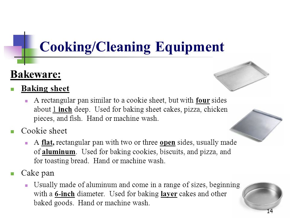 Cooking/Cleaning Equipment