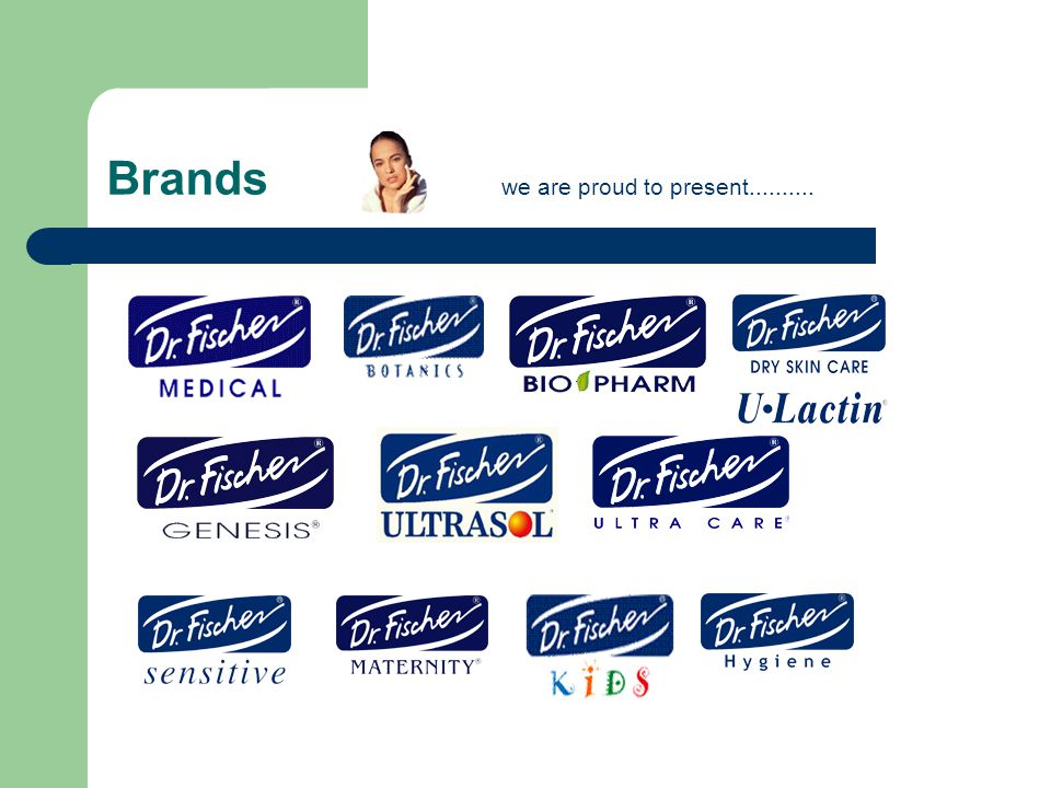 Brands we are proud to present..........