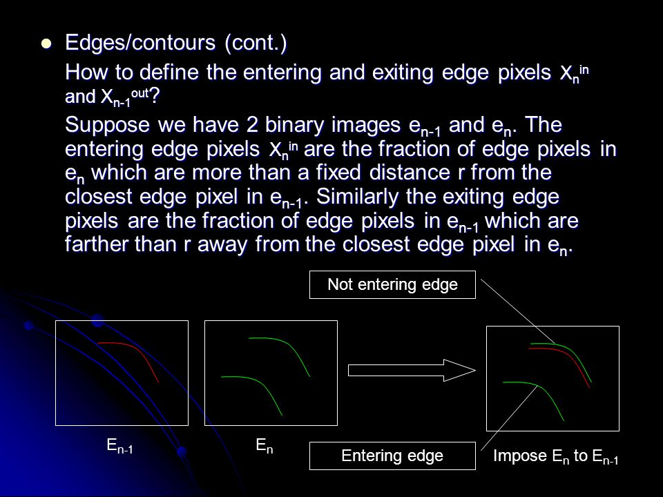Edges/contours (cont.)