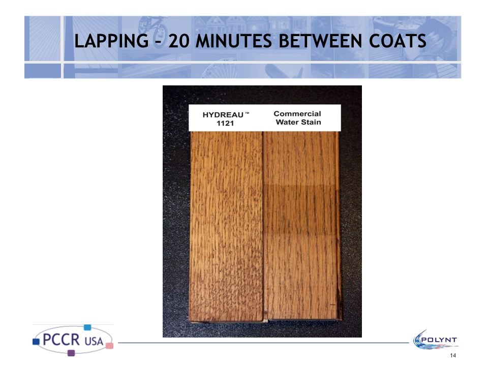 LAPPING – 20 MINUTES BETWEEN COATS