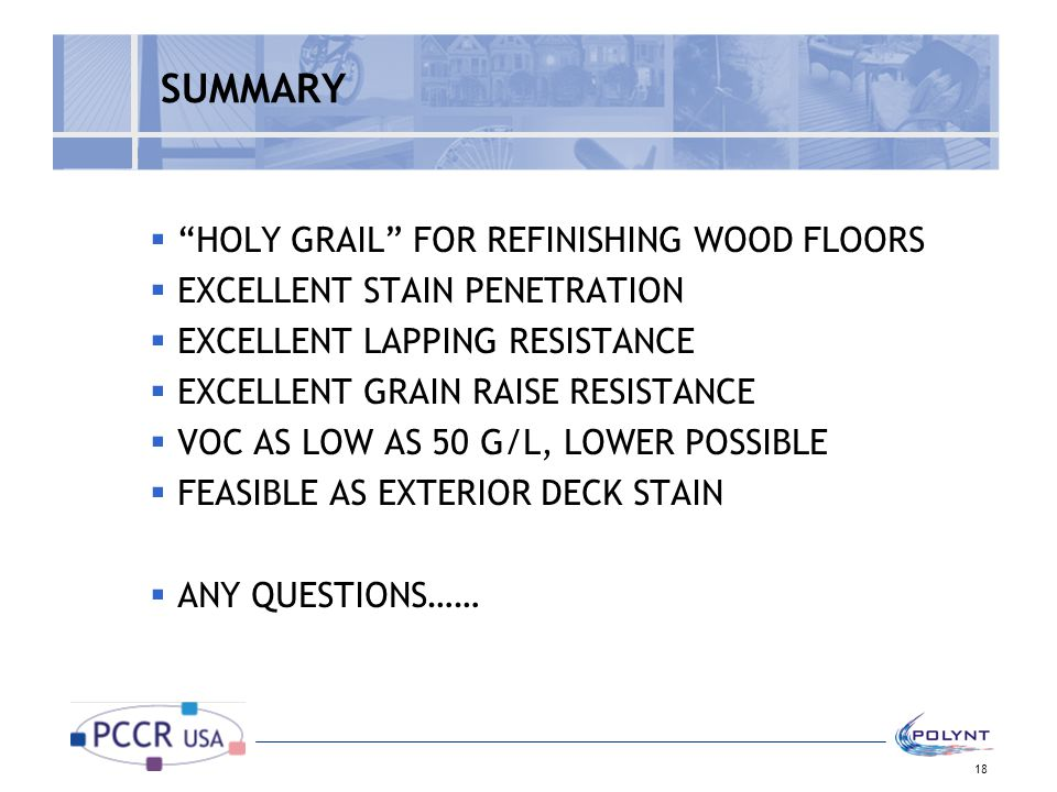 SUMMARY HOLY GRAIL FOR REFINISHING WOOD FLOORS