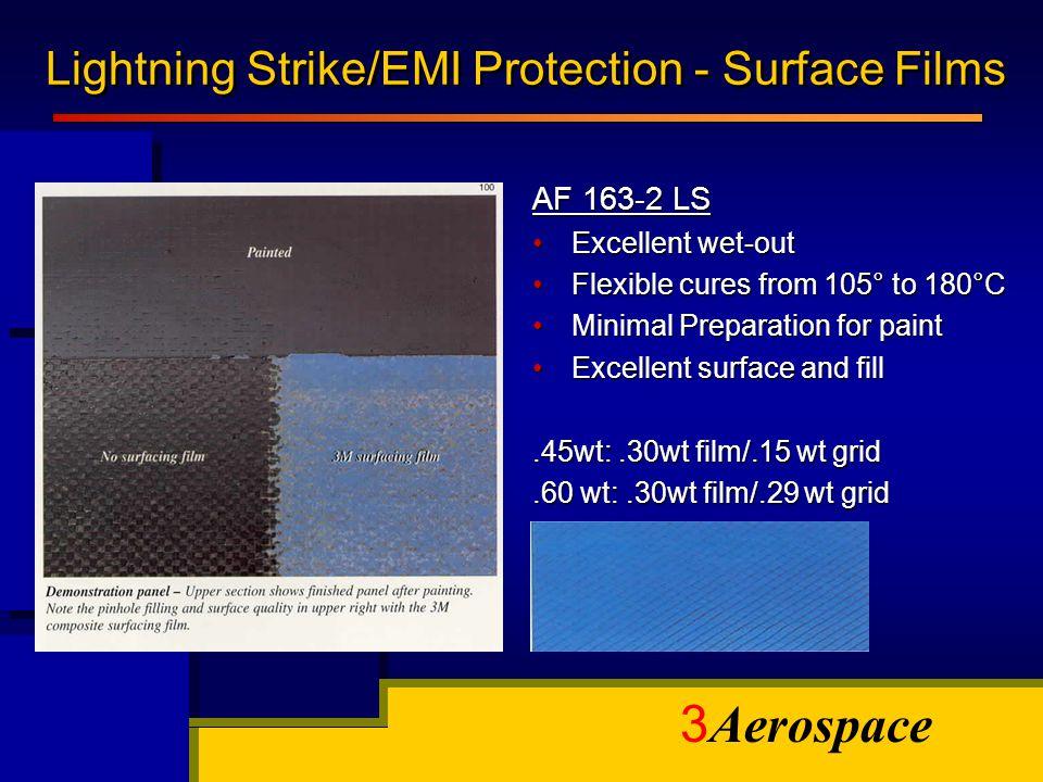 Lightning Strike/EMI Protection - Surface Films