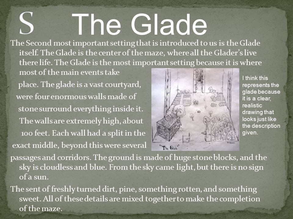 S The Glade.