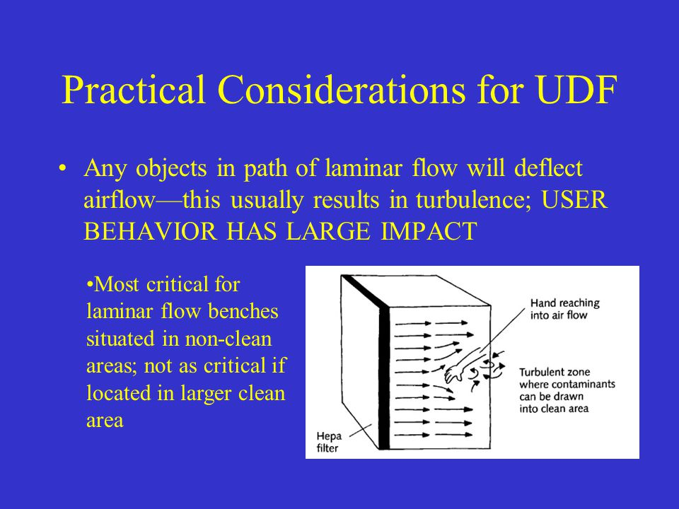 Practical Considerations for UDF