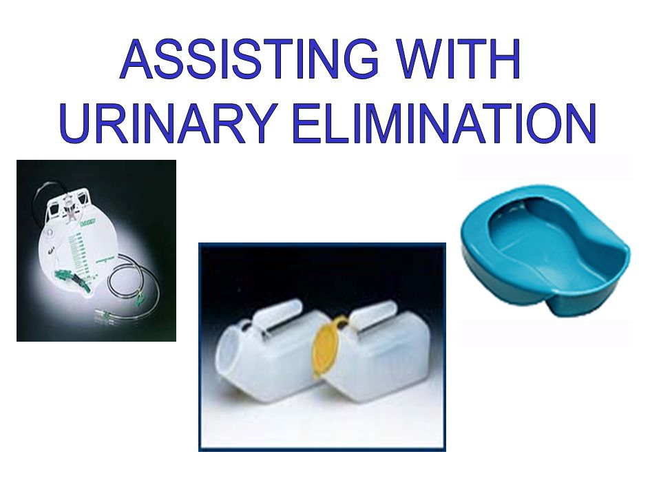 ASSISTING WITH URINARY ELIMINATION