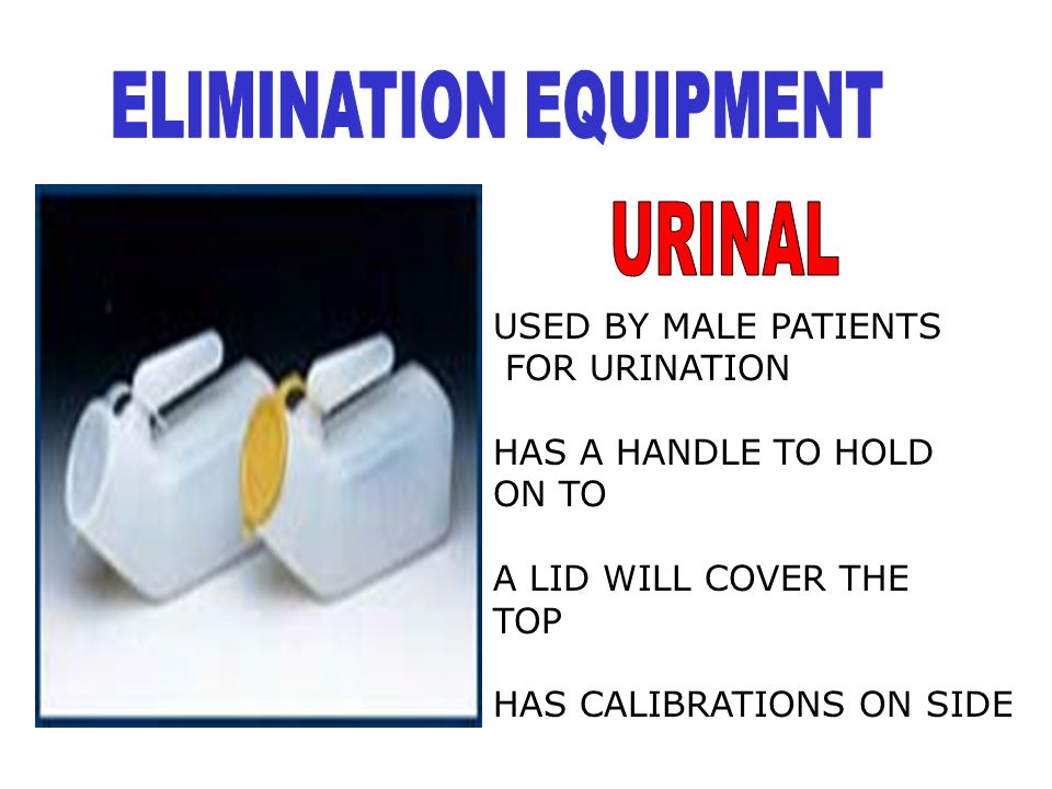 ELIMINATION EQUIPMENT