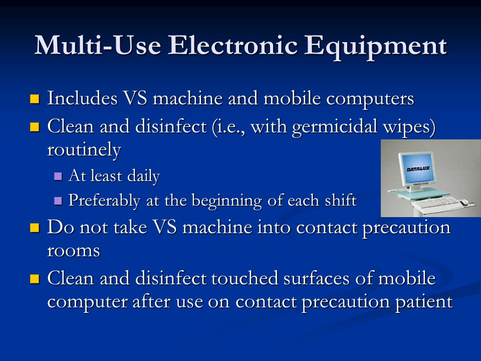 Multi-Use Electronic Equipment