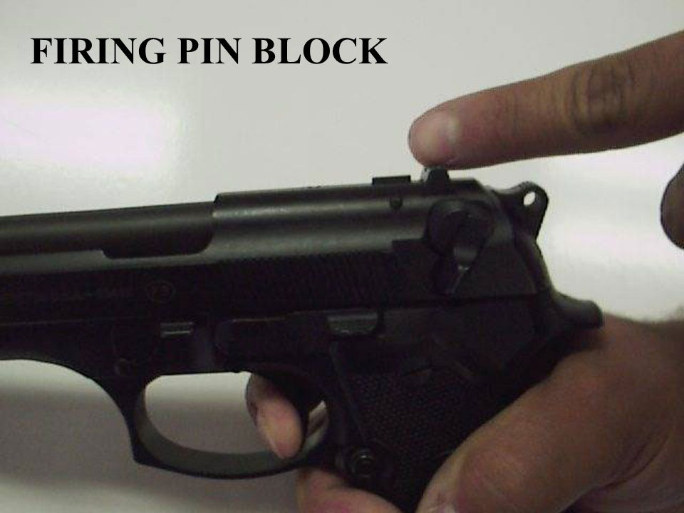 FIRING PIN BLOCK