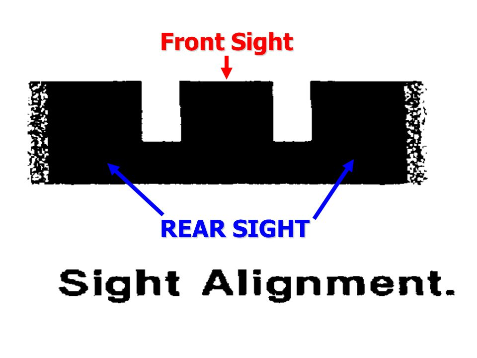 Front Sight REAR SIGHT