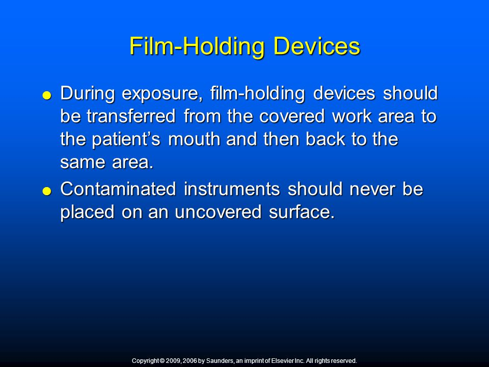 Film-Holding Devices