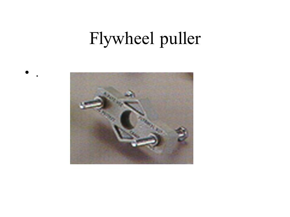 Flywheel puller .