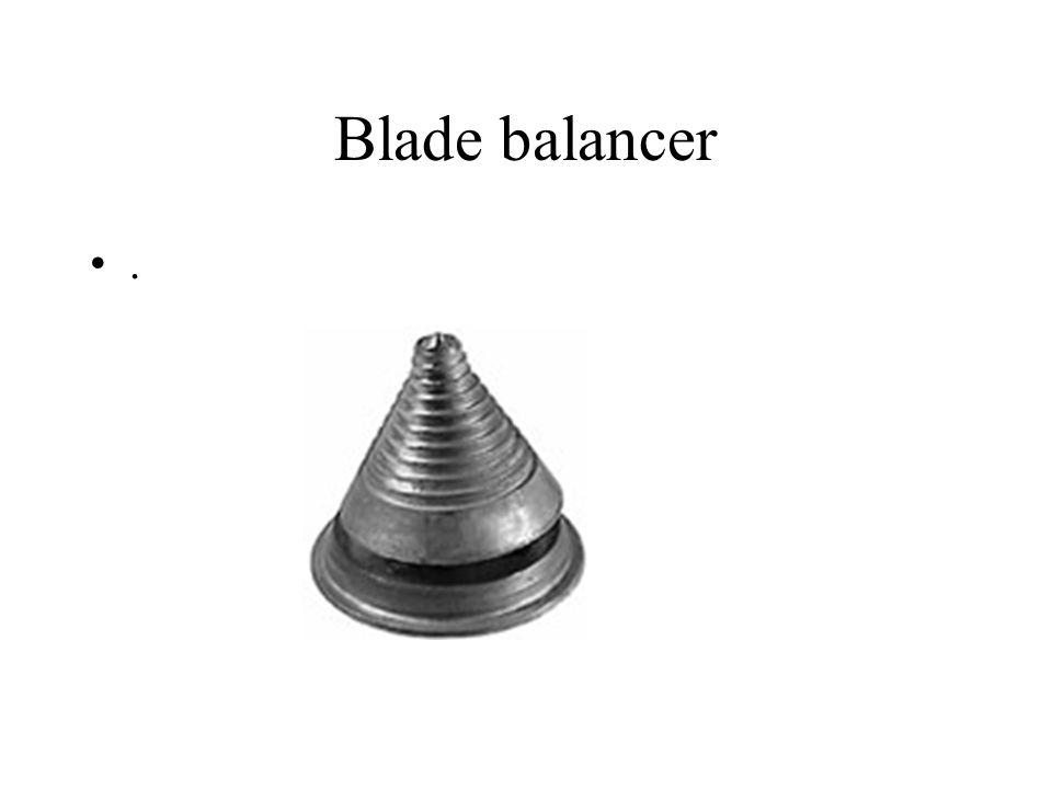 Blade balancer .