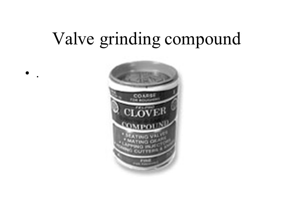 Valve grinding compound