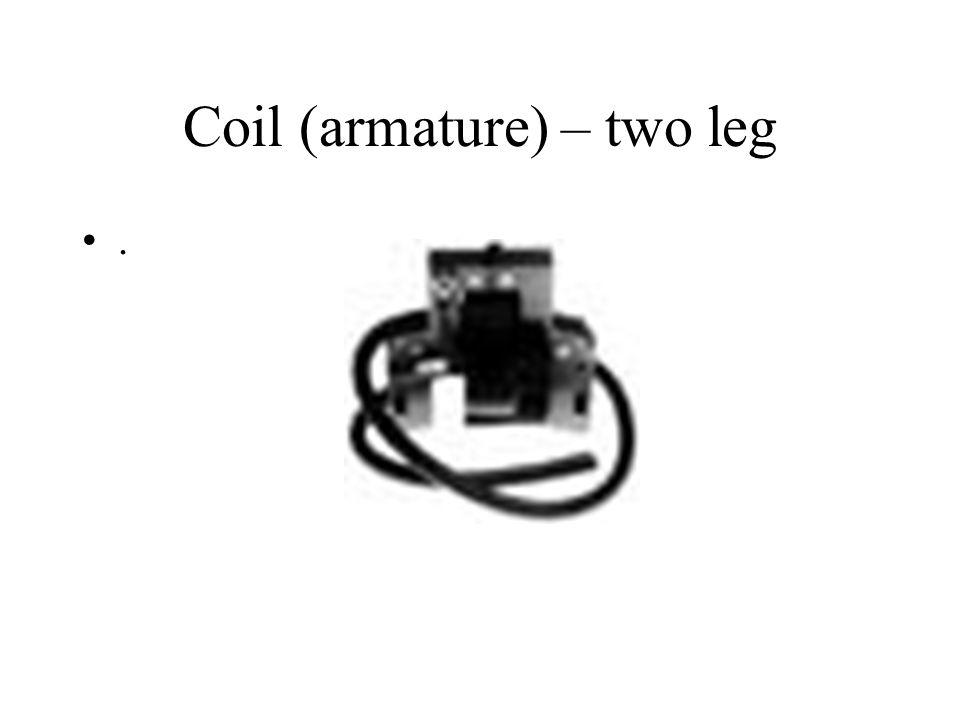 Coil (armature) – two leg