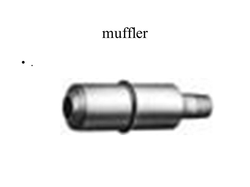 muffler .