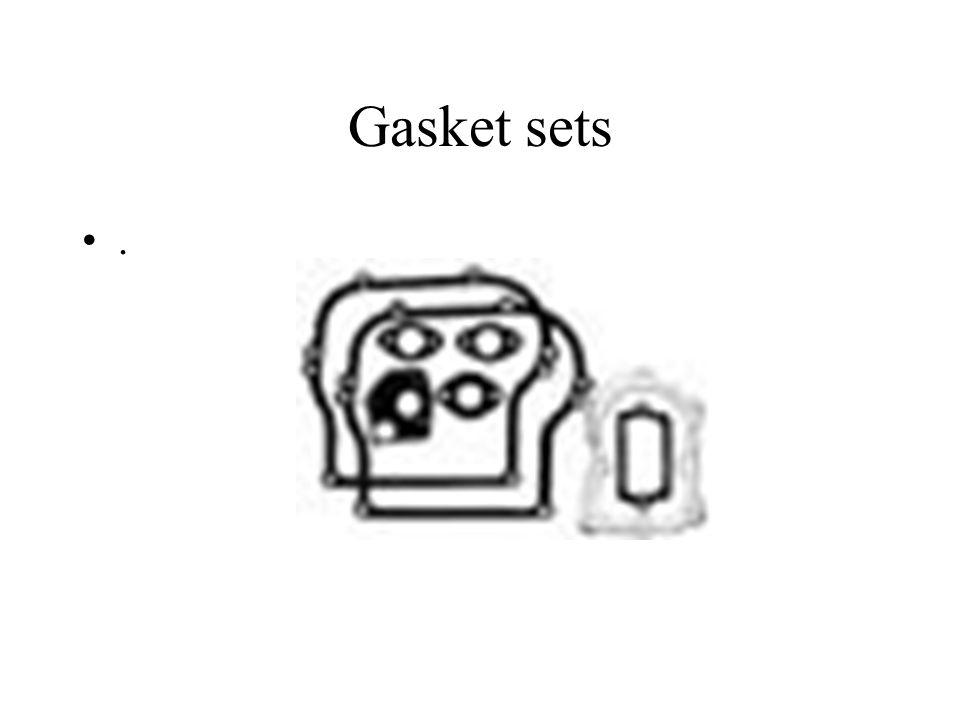 Gasket sets .