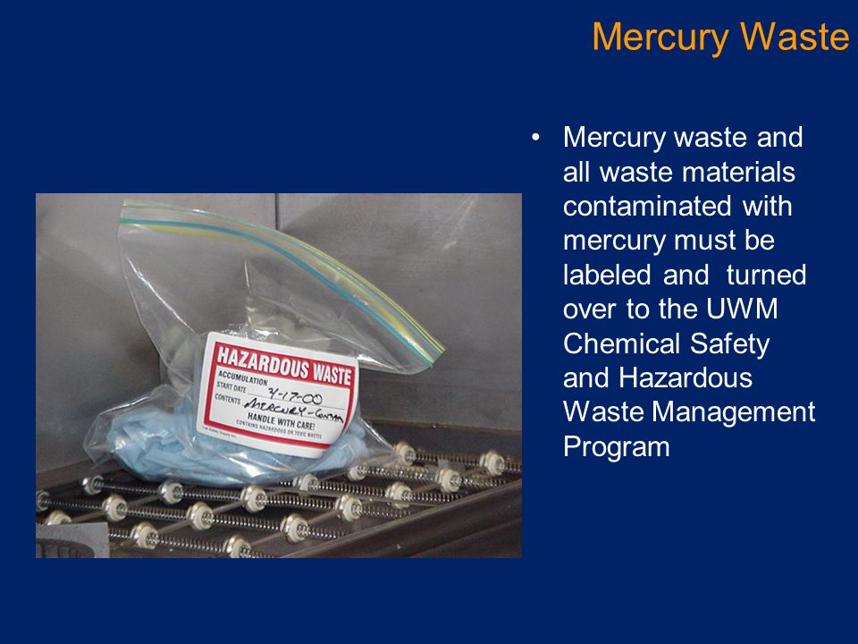Mercury Waste