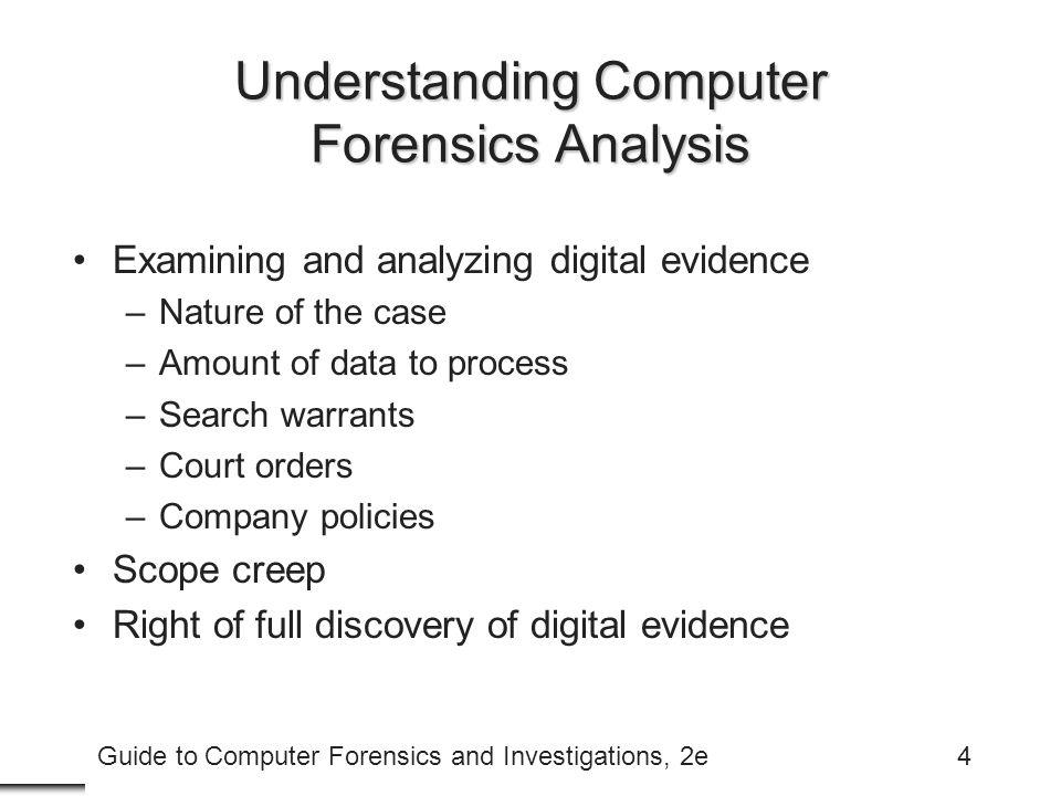 Understanding Computer Forensics Analysis