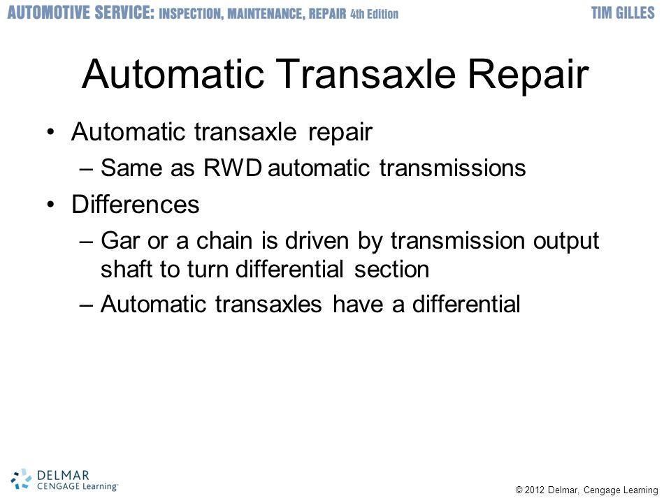 Automatic Transaxle Repair