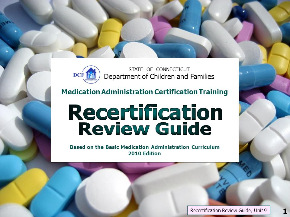 Recertification Review Guide