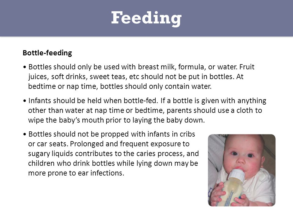 Feeding Bottle-feeding