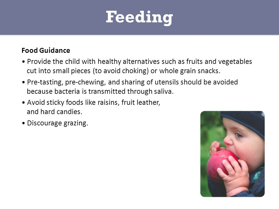 Feeding Food Guidance.