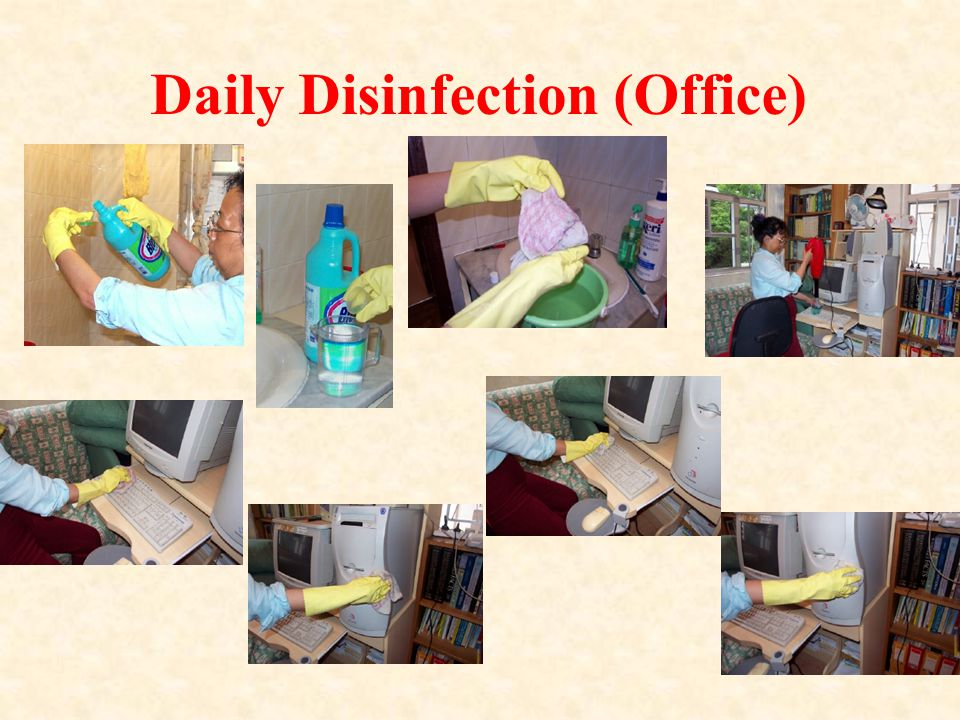 Daily Disinfection (Office)