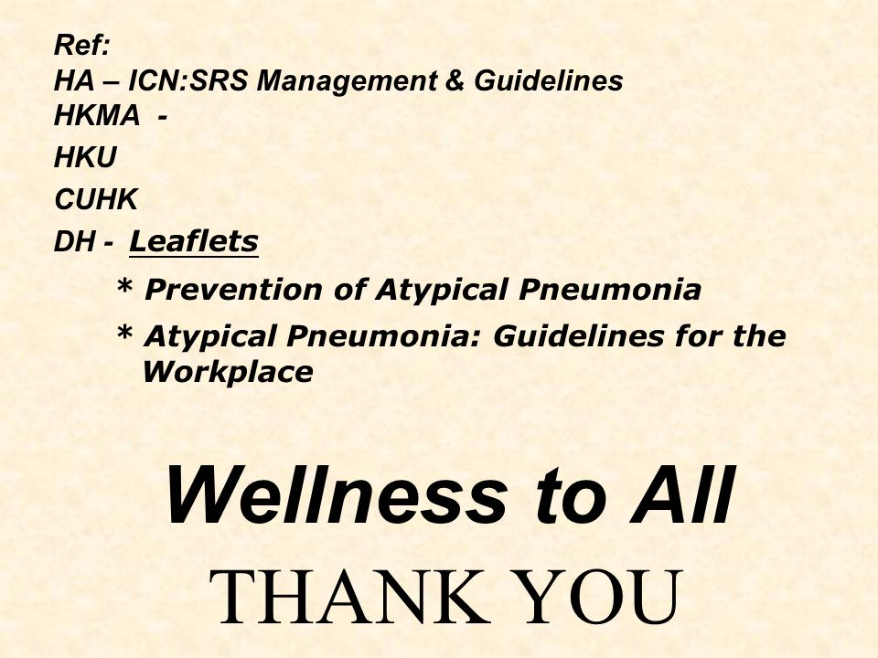 Wellness to All THANK YOU