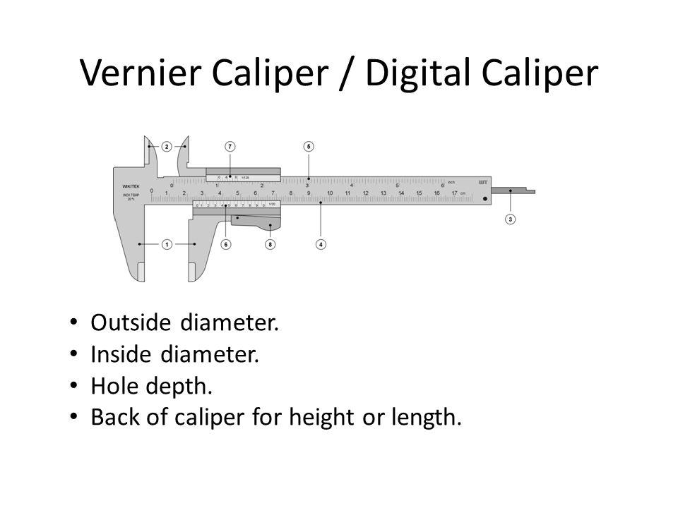 Vernier Caliper / Digital Caliper
