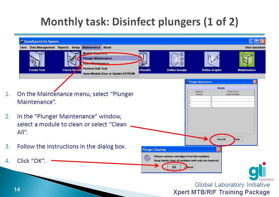 Monthly task: Disinfect plungers (1 of 2)