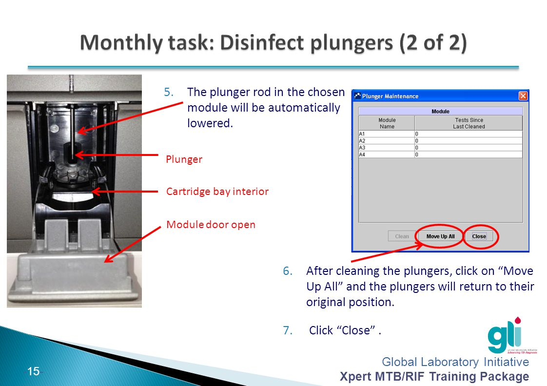 Monthly task: Disinfect plungers (2 of 2)