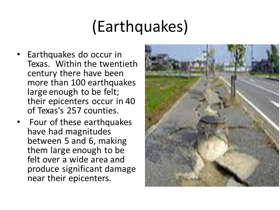 (Earthquakes)