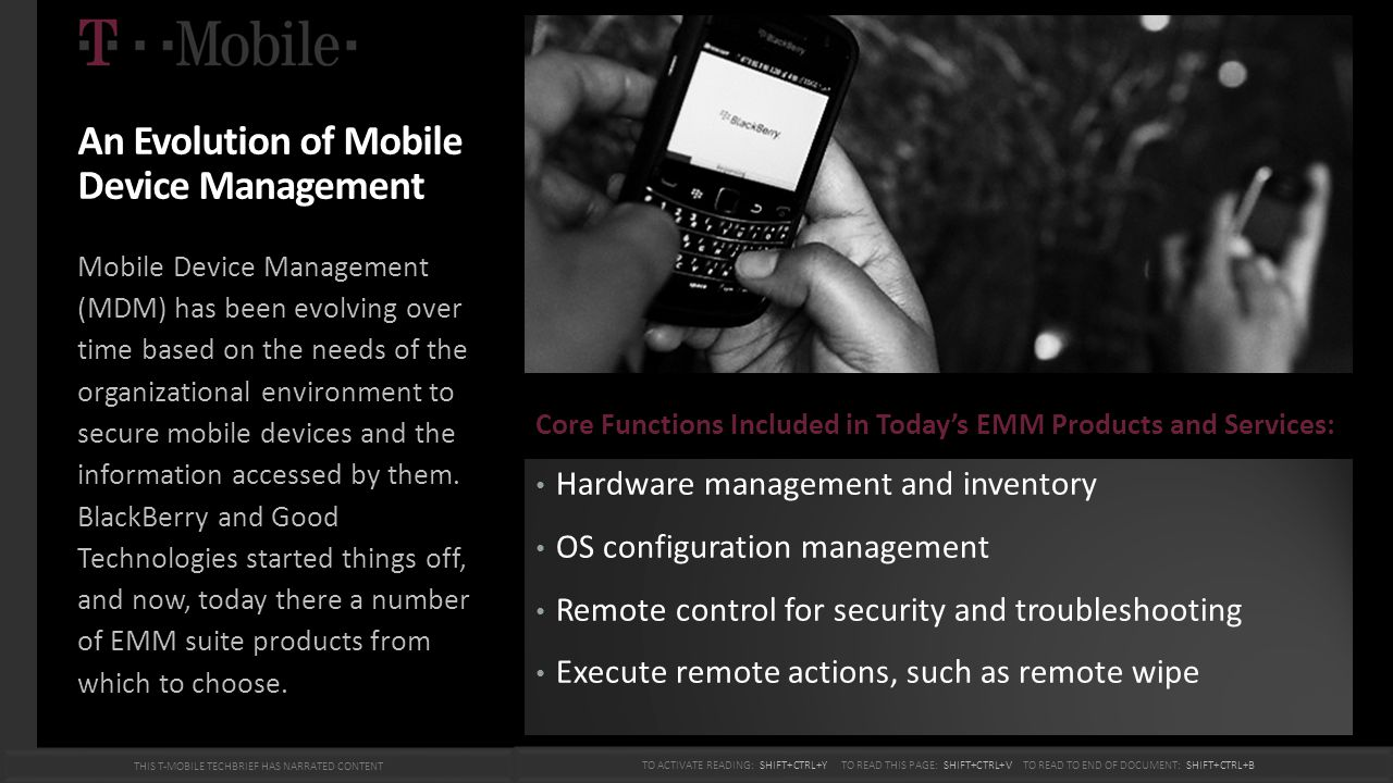 An Evolution of Mobile Device Management