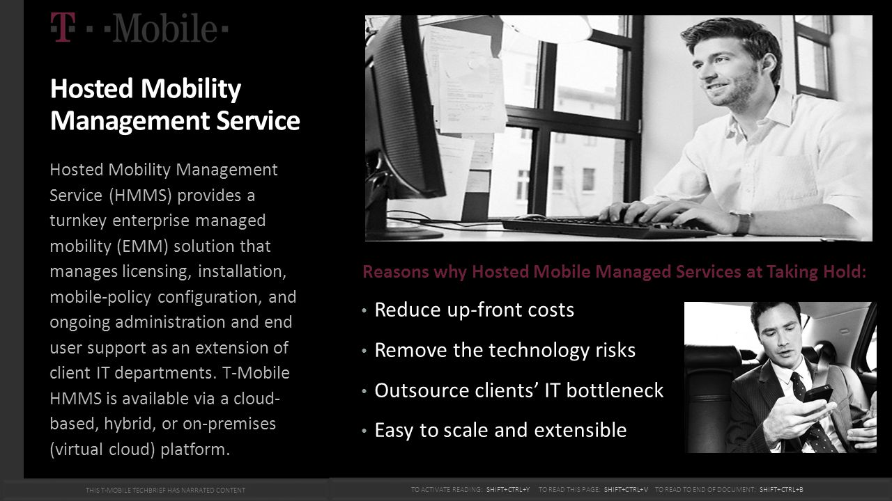 Hosted Mobility Management Service