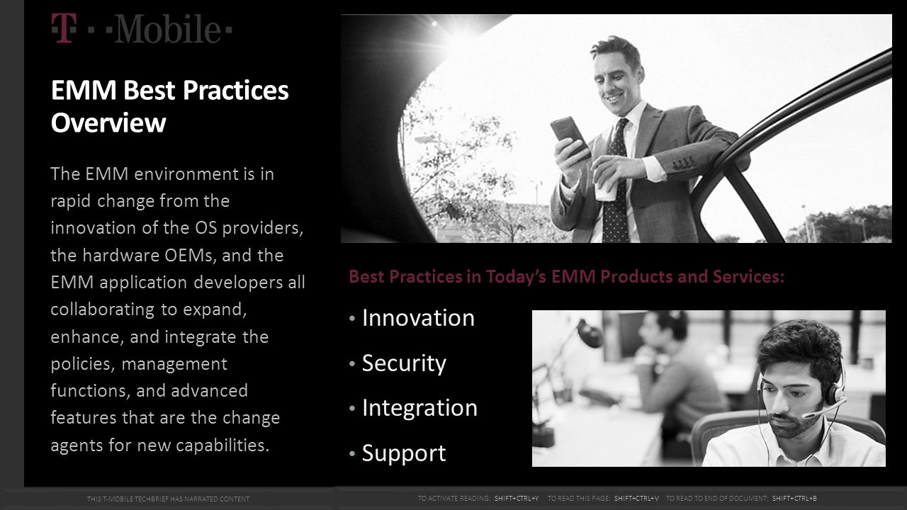 EMM Best Practices Overview