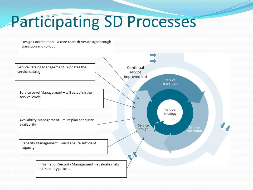 Participating SD Processes