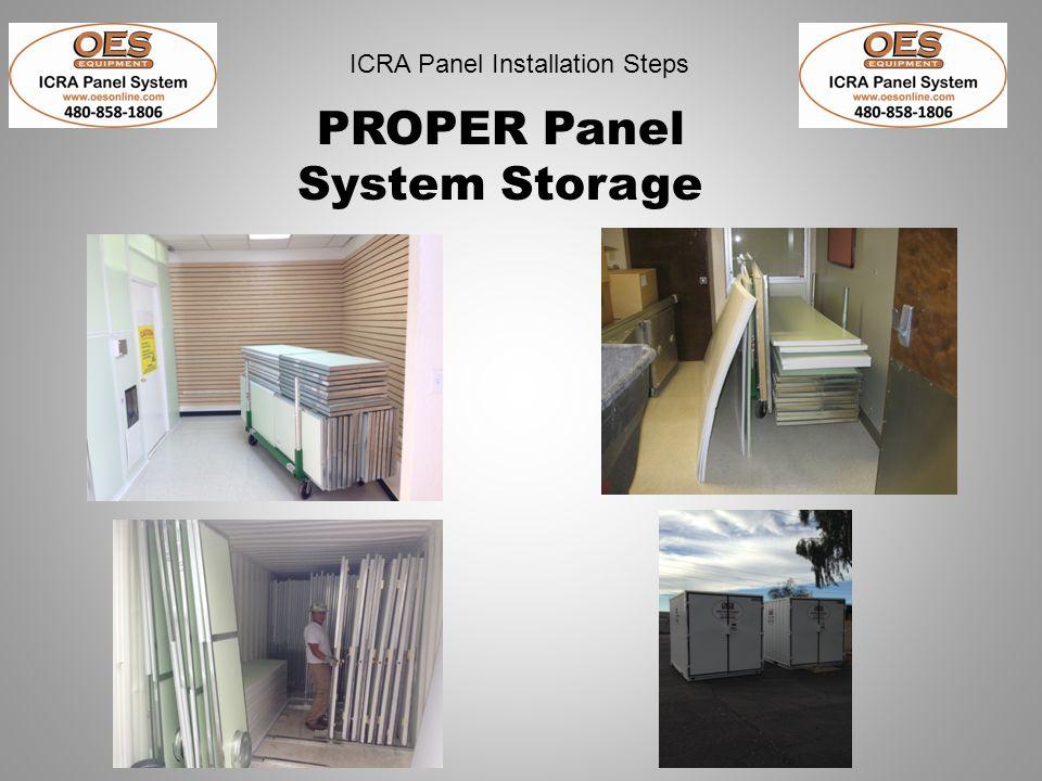 PROPER Panel System Storage
