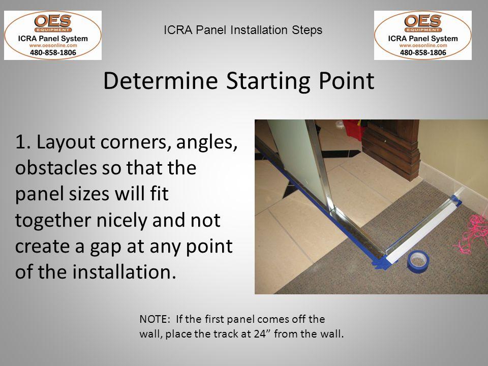 Determine Starting Point