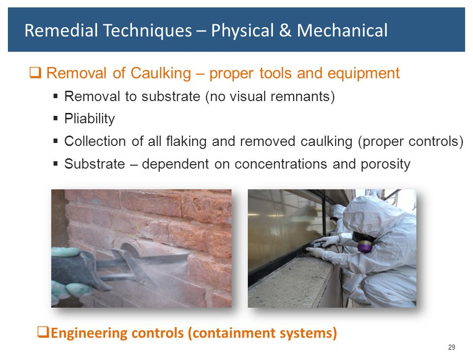 Remedial Techniques – Physical & Mechanical