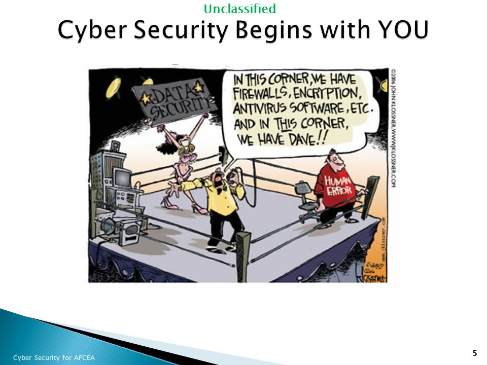 Cyber Security Begins with YOU