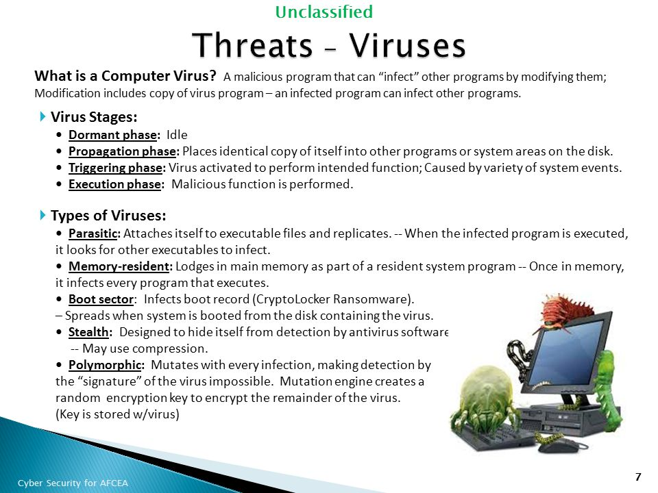 Threats - Viruses
