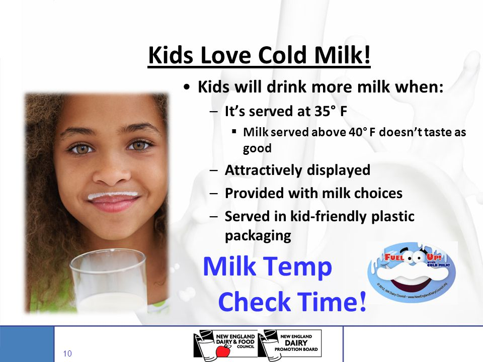 Milk Temp Check Time! Kids Love Cold Milk!