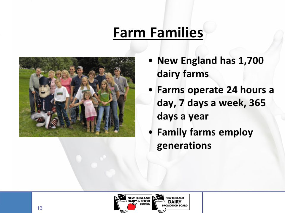 Farm Families New England has 1,700 dairy farms