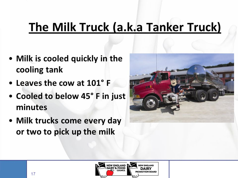 The Milk Truck (a.k.a Tanker Truck)