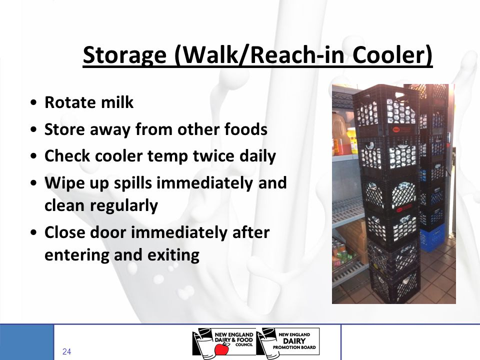 Storage (Walk/Reach-in Cooler)