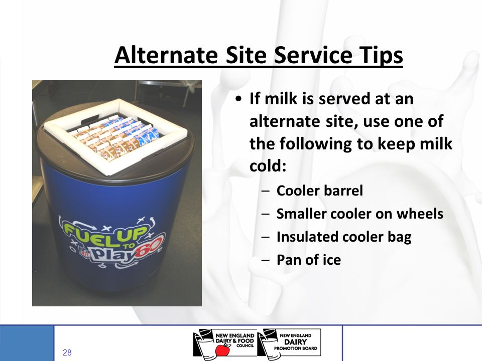 Alternate Site Service Tips