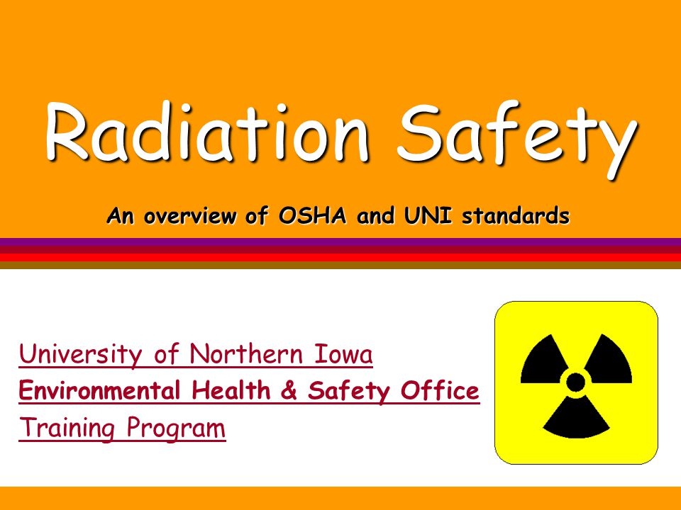 An overview of OSHA and UNI standards